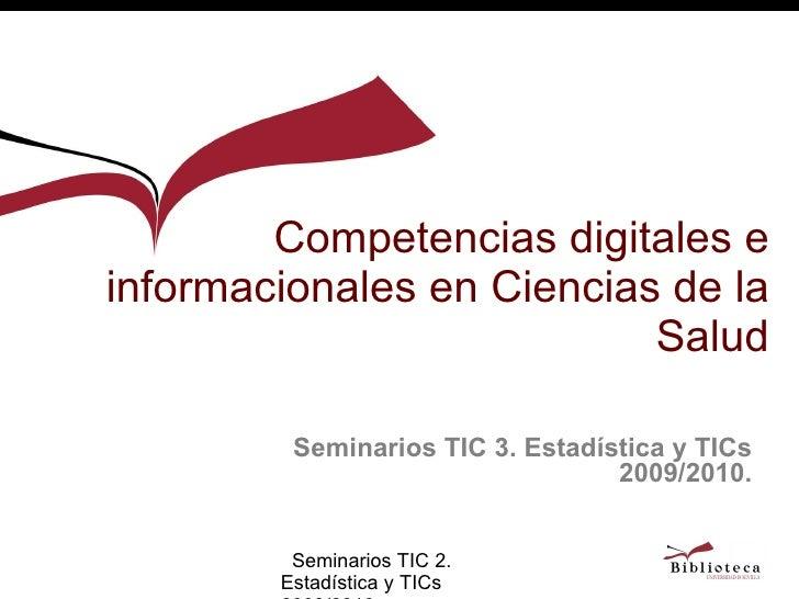 Tercer seminario TIC