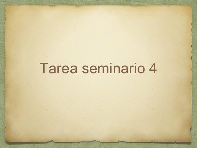 Tarea seminario 4