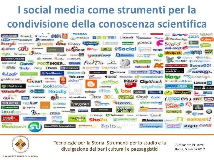 Il ruolo dei social media nella condivisione della conoscenza scientifica