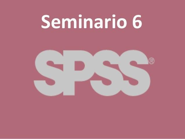 Seminario 6