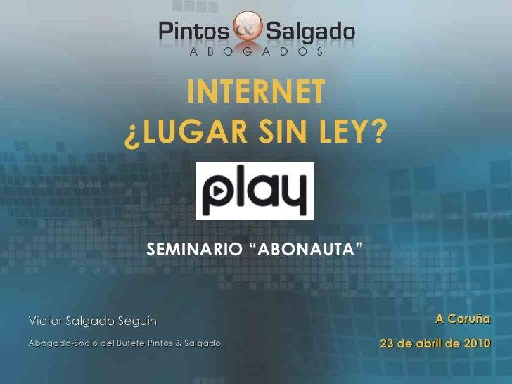 Seminario Abonauta Play ZD 2010