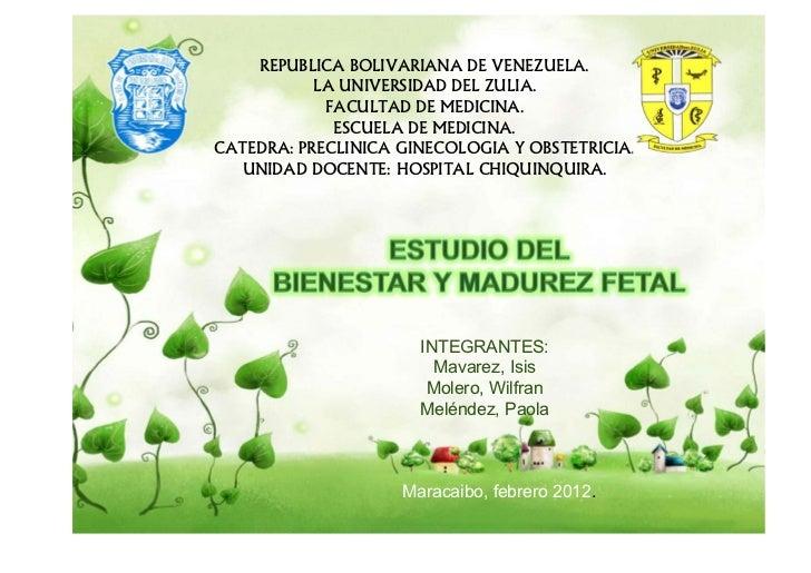 REPUBLICA BOLIVARIANA DE VENEZUELA.           LA UNIVERSIDAD DEL ZULIA.            FACULTAD DE MEDICINA.             ESCUE...