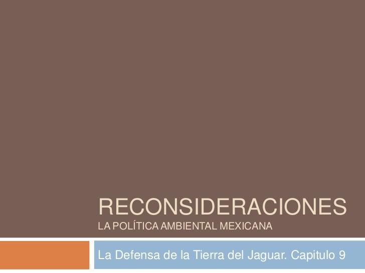 Capítulo IX. La Defensa de la Tierra del Jaguar
