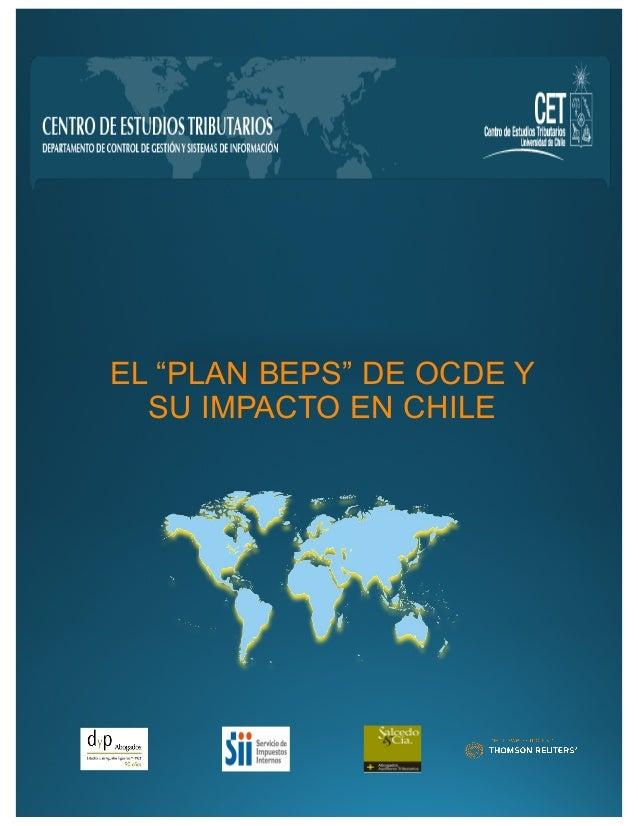 """EL """"PLAN BEPS"""" DE OCDE Y  SU IMPACTO EN CHILE"""