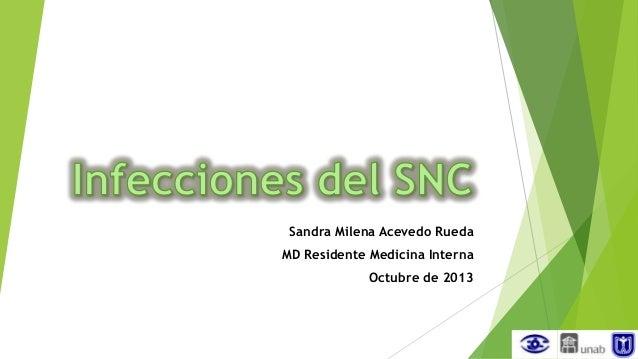 SEMINARIO Infecciones SNC 2013