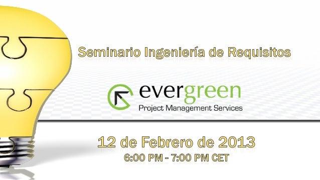 Javier Sánchez Ramírez   Máster Dirección de Sistemas de Información y       Comunicaciones MDSIC ( UPM)   Empresas: Ciber...