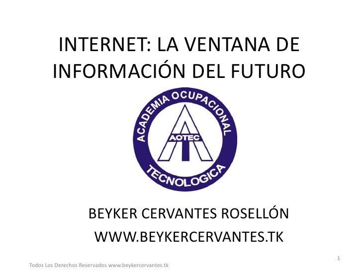 SEMINARIO MANEJO DE HERRAMIENTAS DE INTERNET