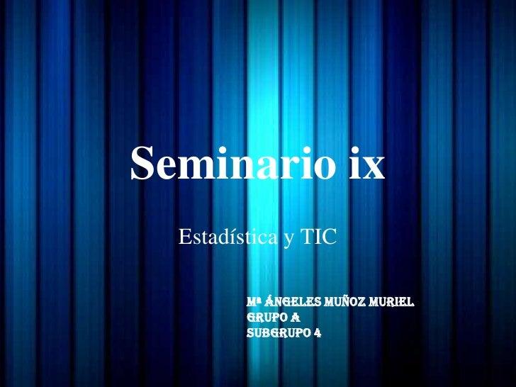 Seminario ix