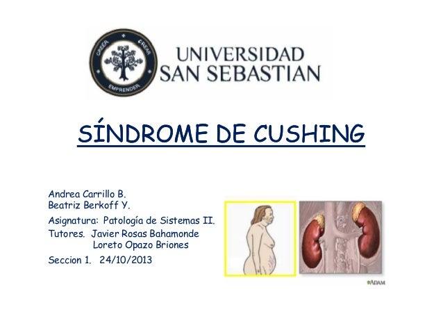 Seminario Patología de Sistemas II: Sindrome de Cushing