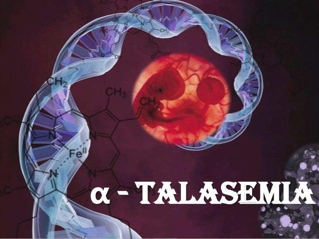 Seminario Patologica Alfa Talasemia