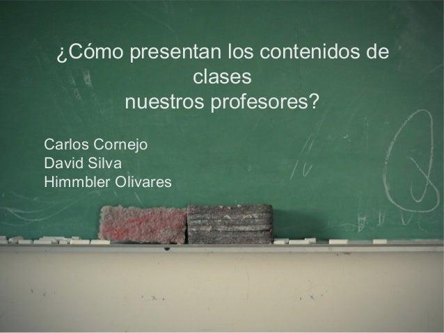 Presentación Carlos Cornejo (Docentes)