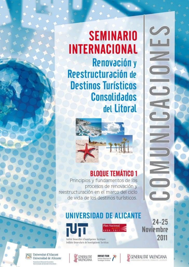 Consideraciones estratégicas para la reestructuración turística destino maduro: el caso de Cullera