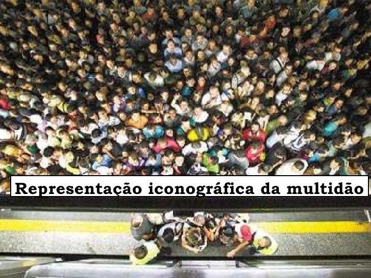 Representação iconográfica da multidão