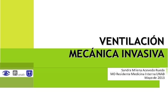 Seminario Ventilación Mecánica Invasiva