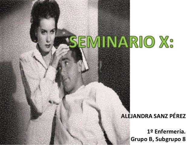 Seminario X