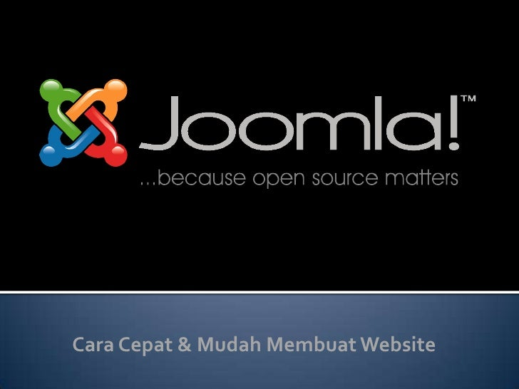 Seminar Joomla
