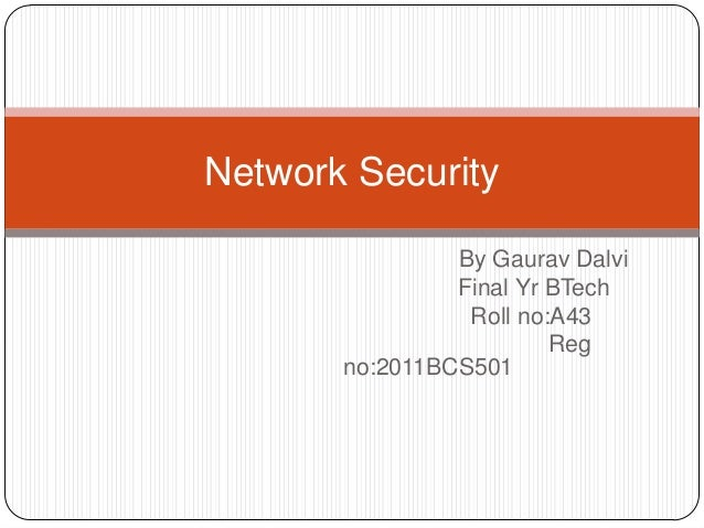 Seminar (network security)