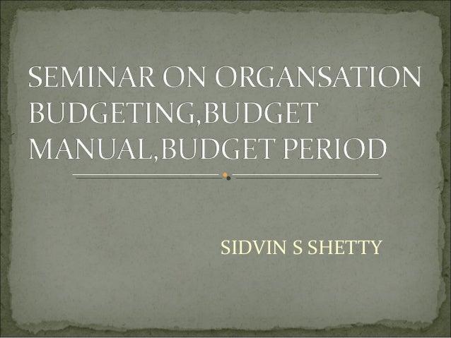 SIDVIN S SHETTY