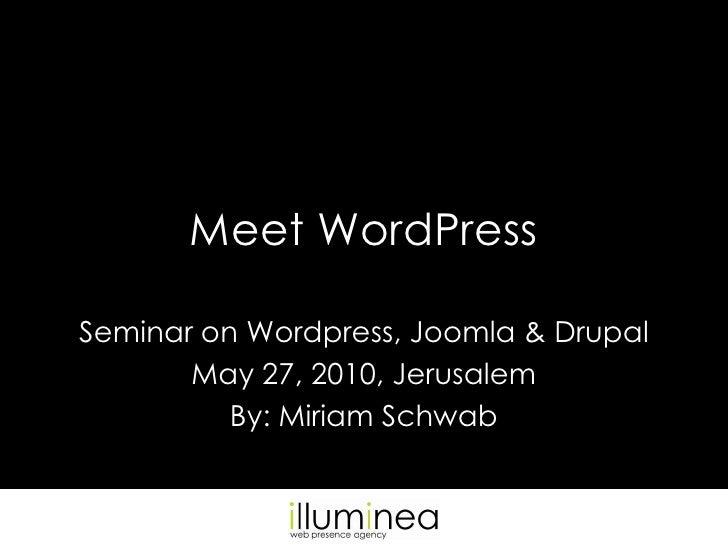 Meet WordPress