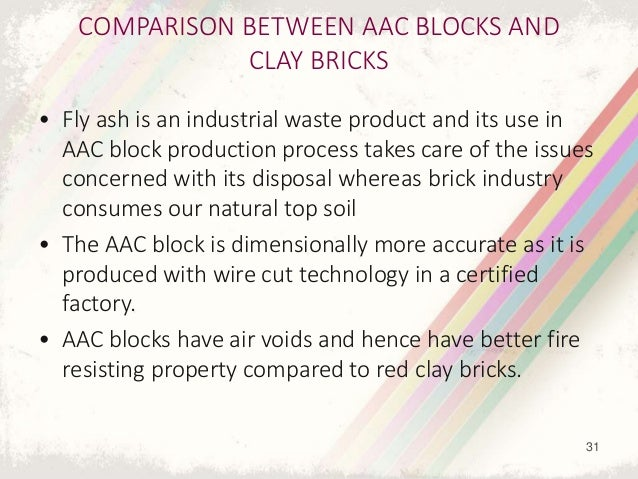 Autoclaved aerated concrete blocks - Aac blocks vs clay bricks ...