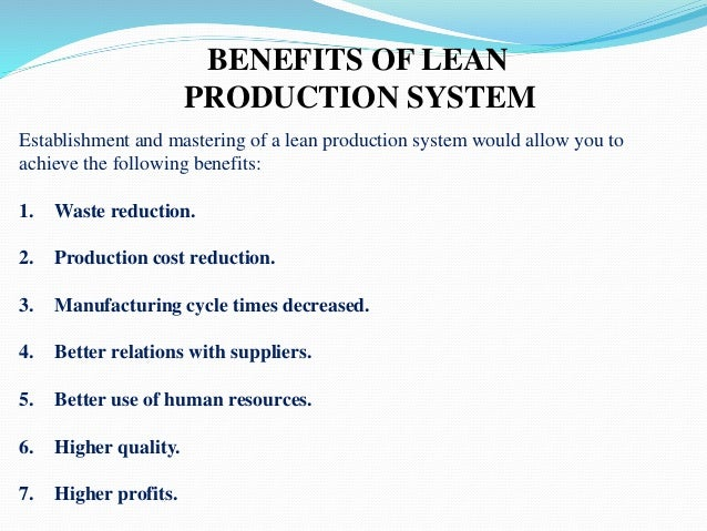 elements of lean systems would be most troublesome for manufacturers to implement