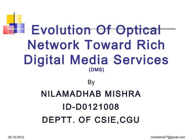 Seminar presented by n.m mishra on dt.02 -10-2012