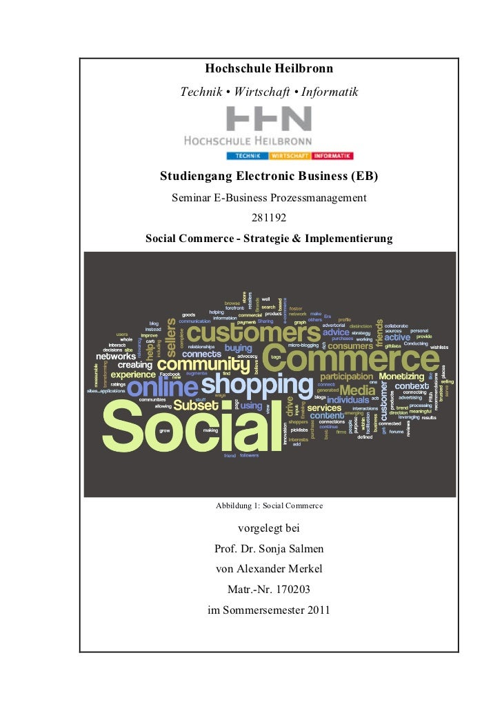Social Commerce - Grundlagen, Implementierung & Messbarkeit