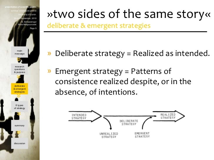 pescriptive versus emergent Full-text paper (pdf): critical exploration of prescriptive and emergent approaches to strategic management: a review paper.