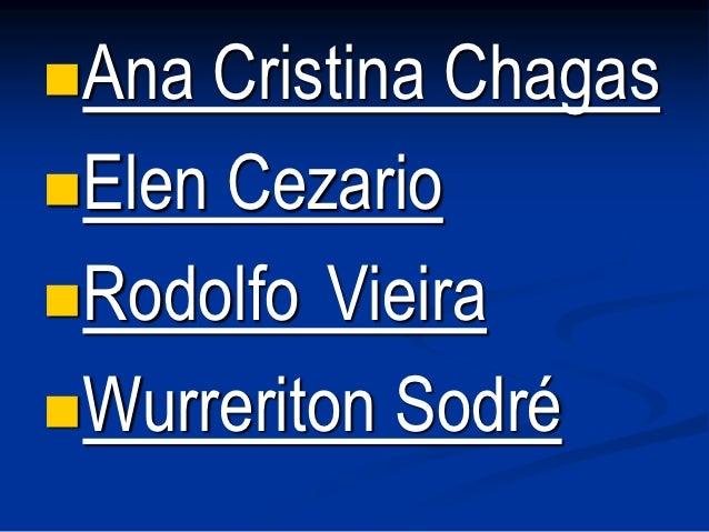 Ana Cristina ChagasElen CezarioRodolfo VieiraWurreriton Sodré