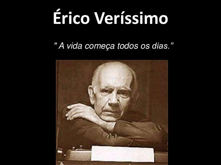SEMINÁRIO DE LITERATURA - ÉRICO VERÍSSIMO