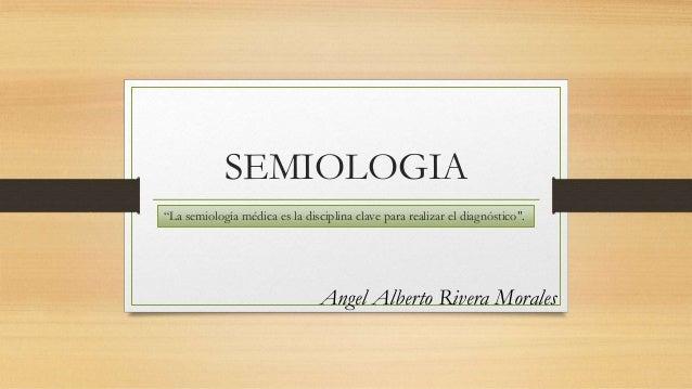 Semiologia medica