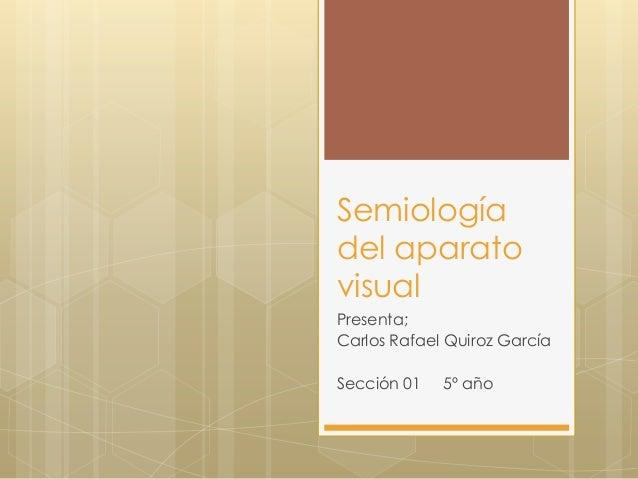Semiologia oftalmologia