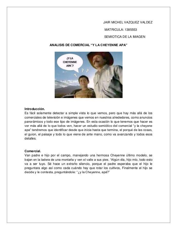 JAIR MICHEL VAZQUEZ VALDEZ                                                         MATRICULA: 1385553                     ...