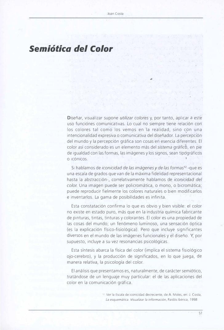Joan Costa                                                                                           •     Semiótica del C...