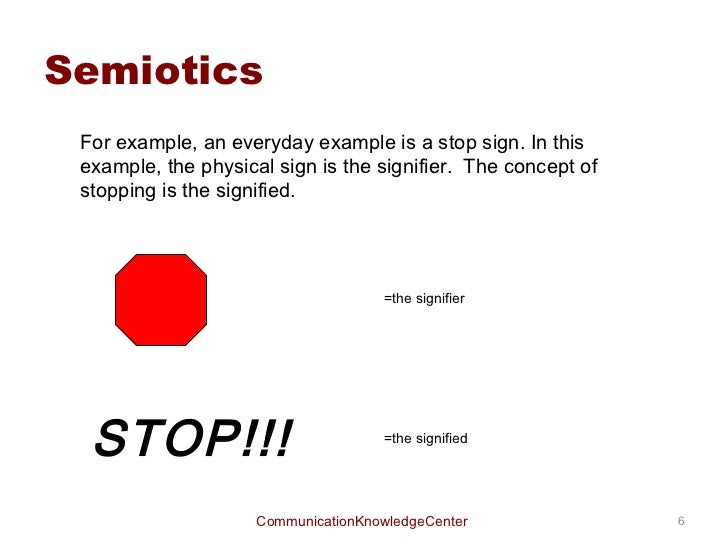 Semiotic Analysis Essay