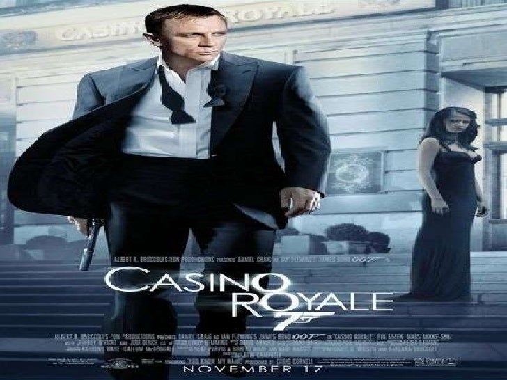Critical Analysis of a James Bond poster (Casino Royale)?