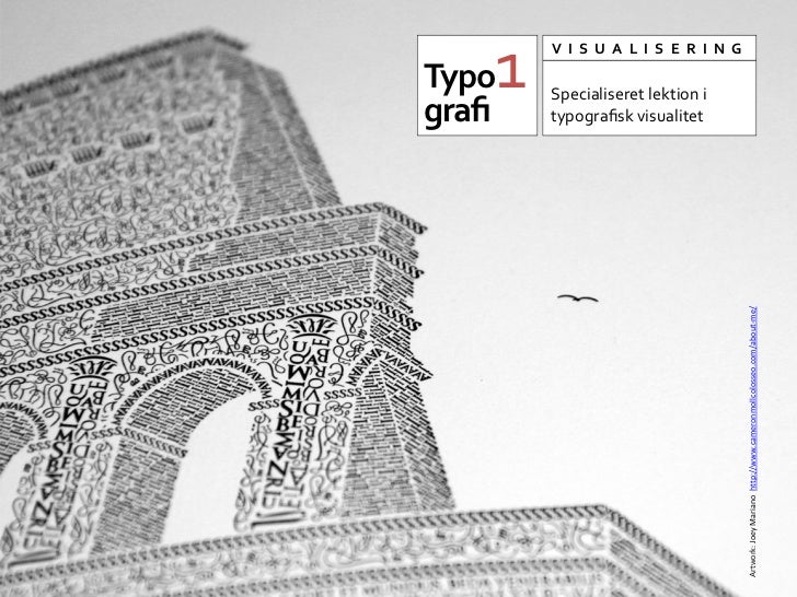 Semiotik og typografi lite lektion_1_dk_danish
