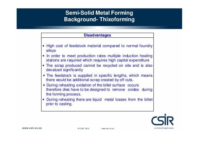semi solid metal casting