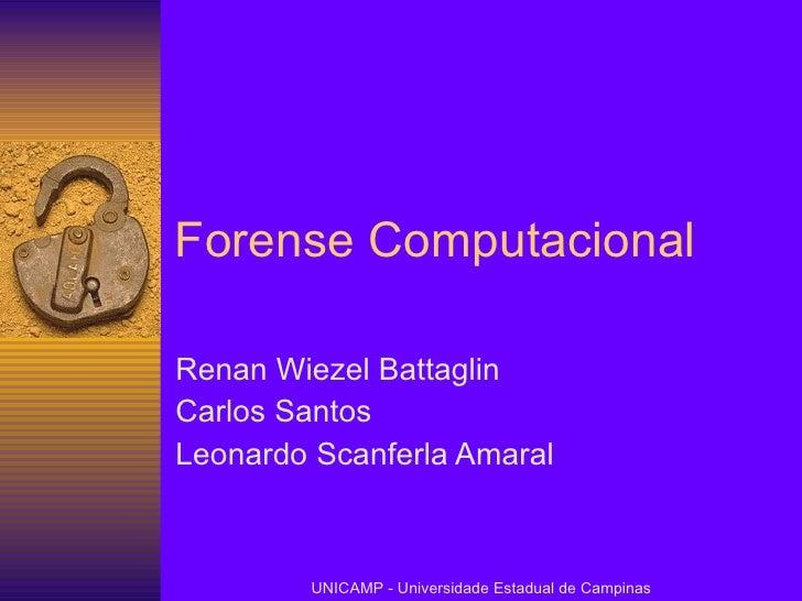 Forense Computacional