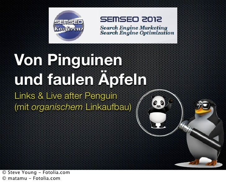 SEMSEO 2012 - Links after Penguin