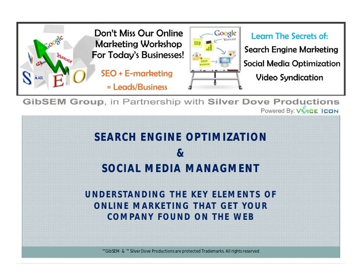 Sem & Social Media