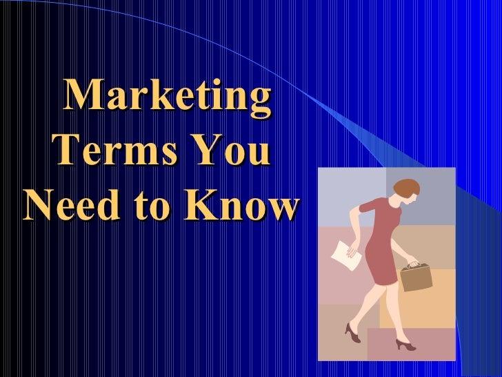 Learn SEM Terms