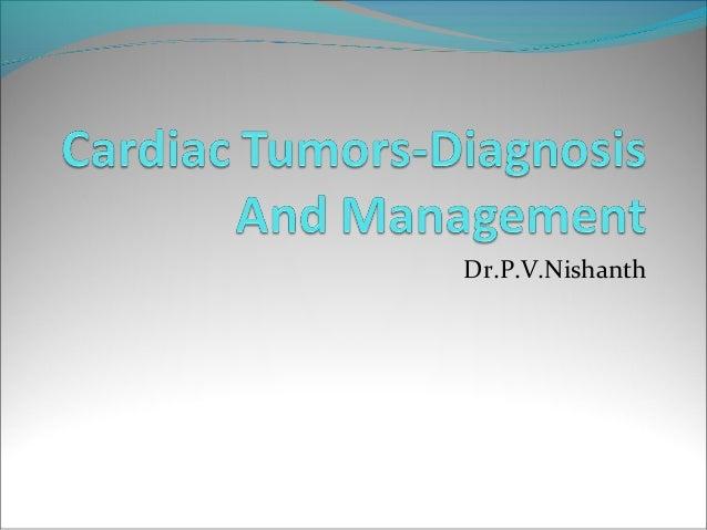 cardiac  tumors