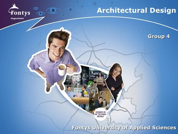 Sen2 Architectural Design