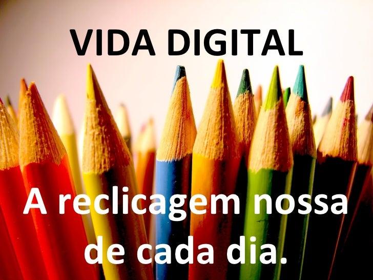 """Senac - Palestra """"Vida Digital""""."""
