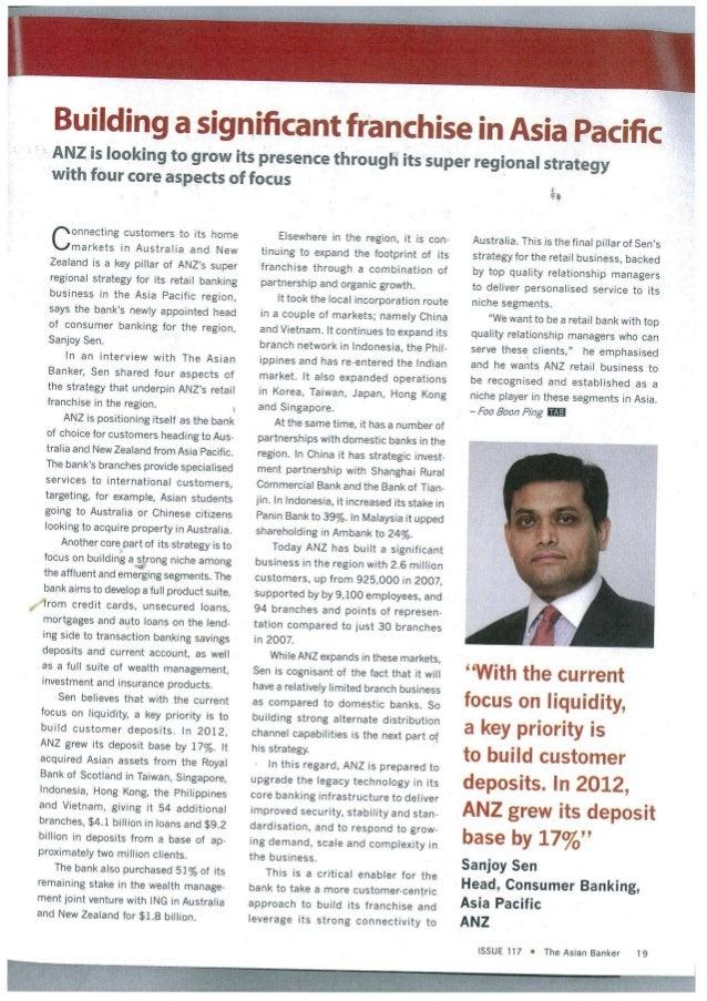 Sanjoy Sen - Asian Banker- April 2013