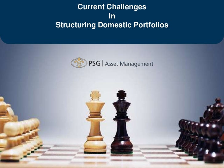 Current Challenges                                     In                       Structuring Domestic Portfolios1   CONSIST...
