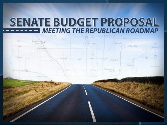 Senate Budget Priorities• Honestly Balanced Budget• Promote Hoosier Job Growth• Fund Our Priorities• Prepare For Indiana's...