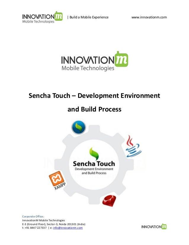 Sencha Touch Development Process_InnovationM