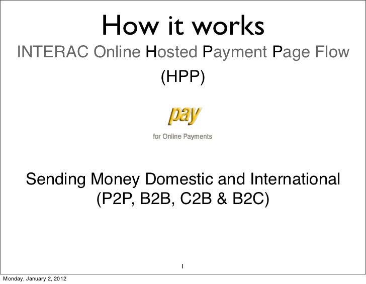 A2Apay Send Payment Flow